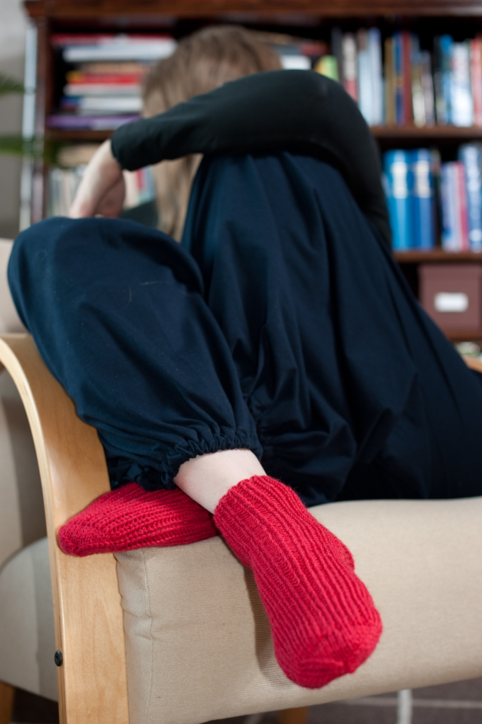 Röda sockor till Sys